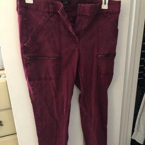 Loft Julie Skinny Pants Size 10